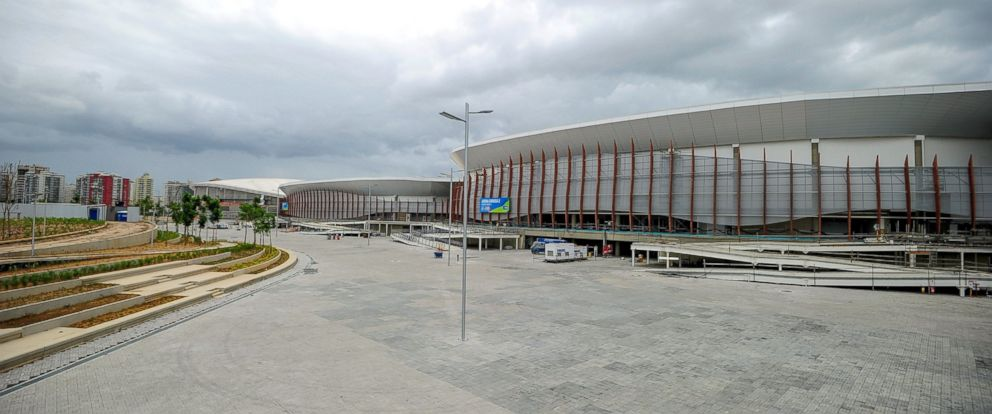 PHOTO: A general view of the Arena Carioca 2, 3 and the Rio Olympic Velodrome at the Olympic Park during International Womens Basketball Tournament as a test event for the Rio 2016 Olympic Games, Jan. 17, 2016, in Rio de Janeiro.