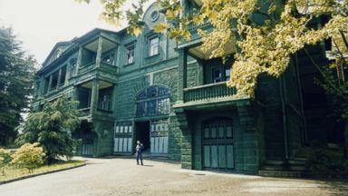 PHOTO: Joseph stalins former dacha, built in the 1930s on the grounds of the Zelenaya Roscha sanatorium in the Krasnodar region near Sochi, Russia, seen Jan. 2, 2013.