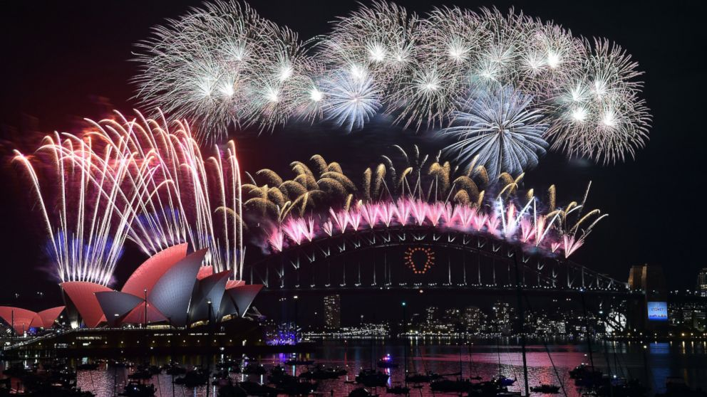 Spectacular Drone Video Captures Sydney New Year's