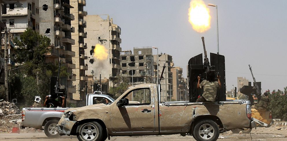 PHOTO: Syrian rebel