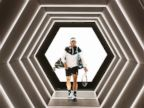 PHOTO: Rafael Nadal of Spain walks out to play his match against Kevin Anderson of South Africa during Day 4 of the BNP Paribas Masters held at AccorHotels Arena, Nov. 5, 2015 in Paris.