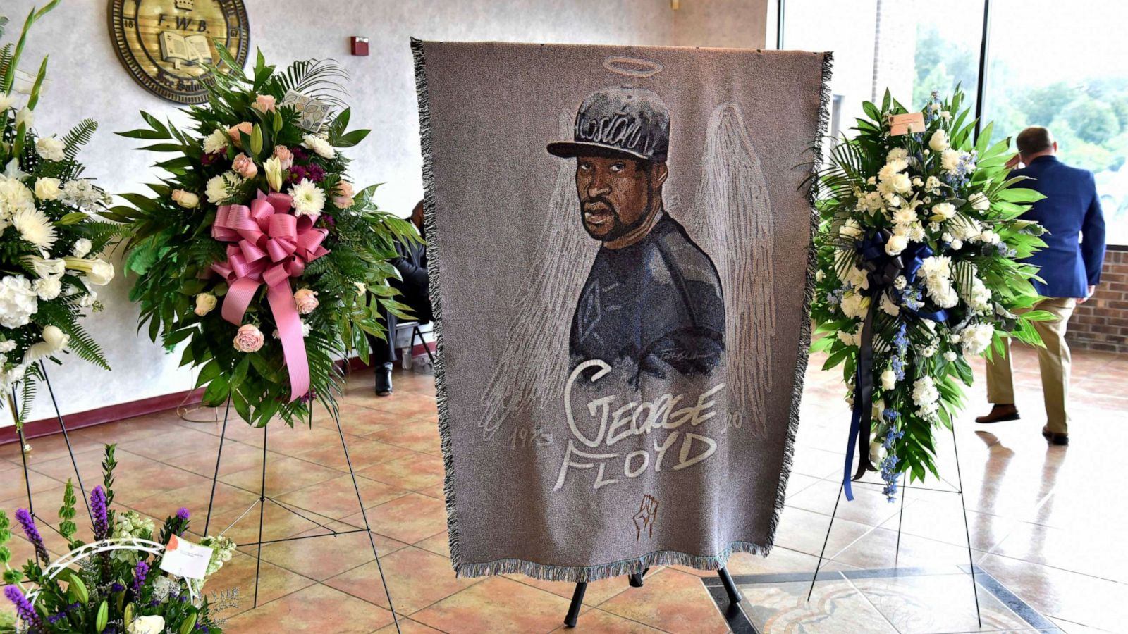 George Floyd remembered as 'gentle giant' at North Carolina ...