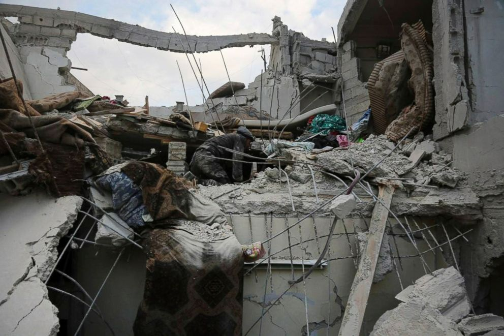 Syrian Civil Defense White Helmets via AP
