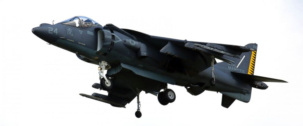 PHOTO: New York Air Show Stewart Airport Harrier Jumpjet AV-8B Harrier II