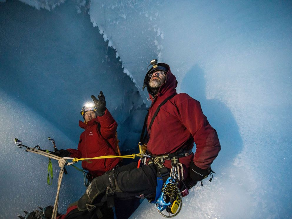 PHOTO: Jason Gully, a glaciologist at the University of South Florida, recently enlisted Gadd's help on an expedition to the Greenland ice sheet.