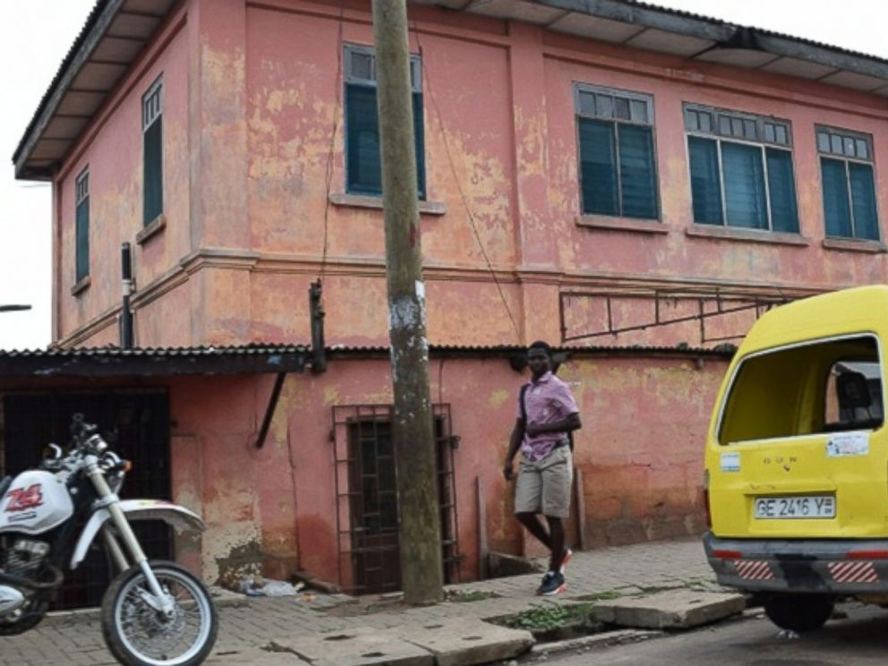 PHOTO: The exterior of the fake US embassy in Accra, Ghana, discovered by the U.S. State Department and shut down last summer.