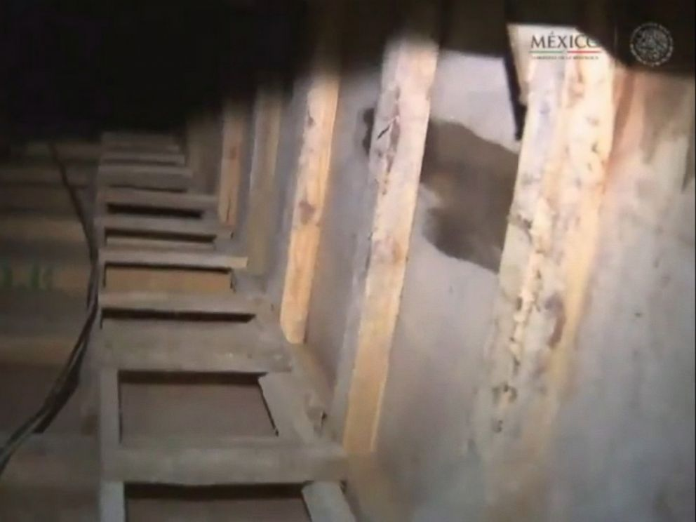 inside the tunnel el chapo used for his latest prison