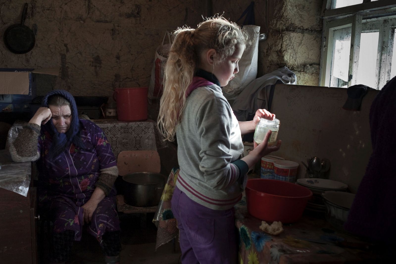 Behind the Absence: The Children of Moldova