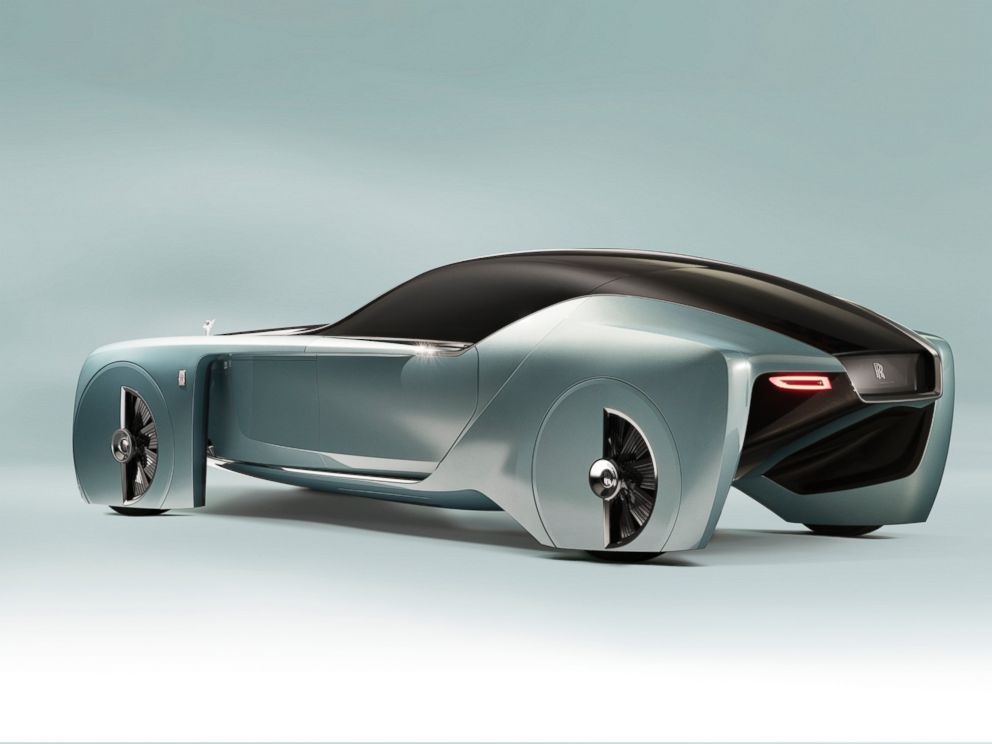PHOTO: Rolls-Royce unveiled their first autonomous car, the VISION NEXT 100, in London on June 16, 2016.