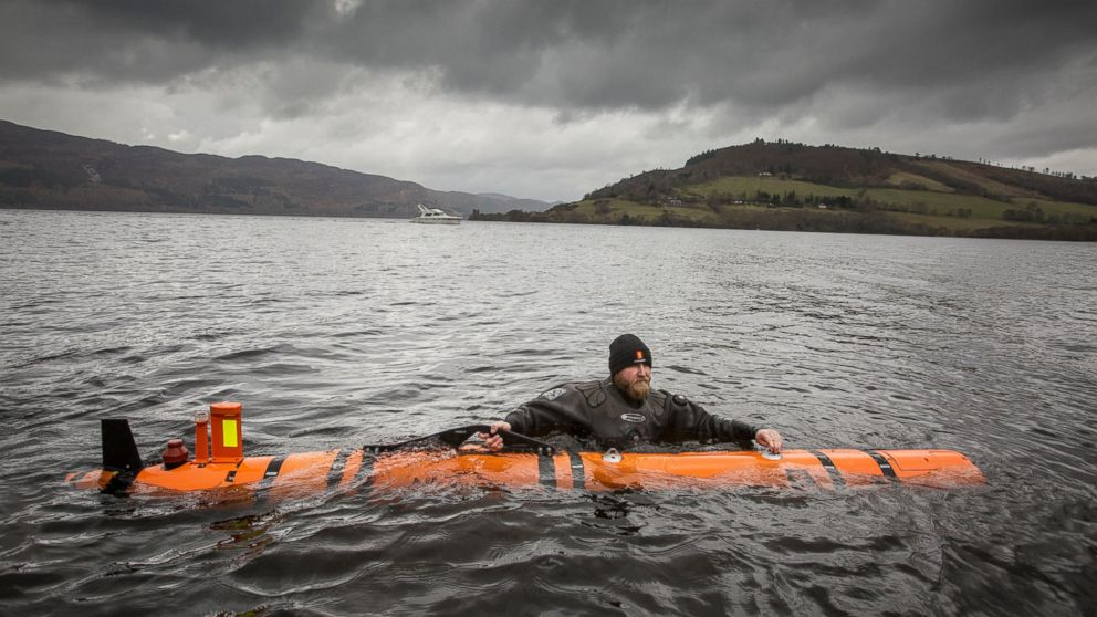 marine robot finds a monster in the depths of scotland s loch ness