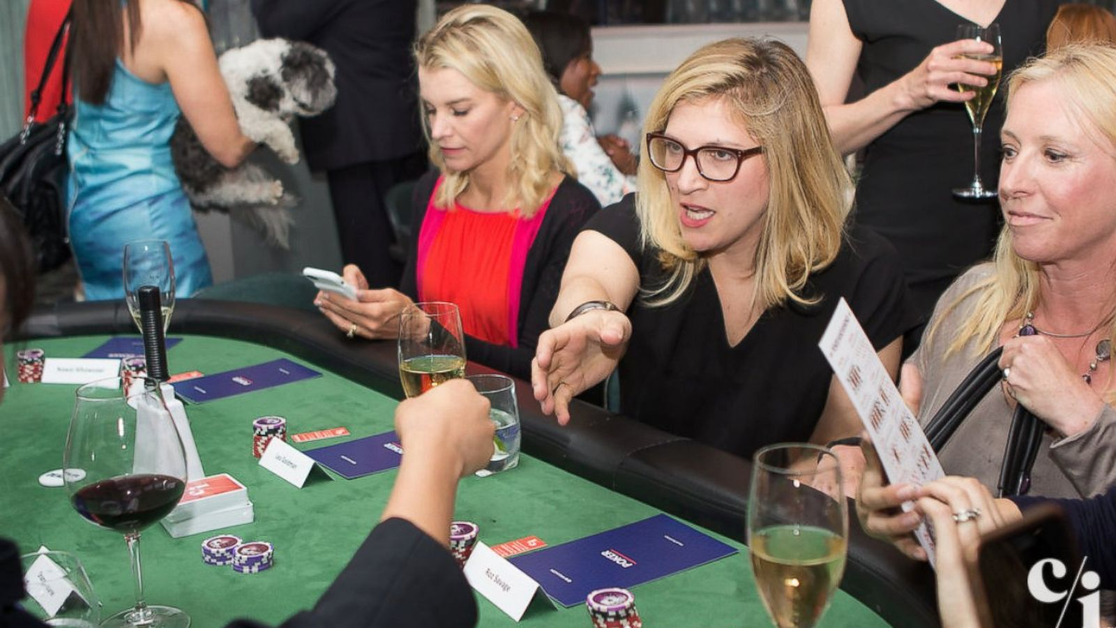 Women Only Poker Tournament A Bet On Career Advancement Abc News