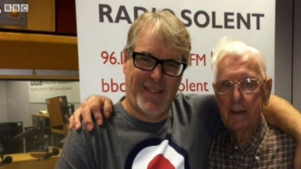 BBC Radio Solent host Alex Dyke invited 95-year-old listener Bill Palmer for coffee on Oct. 21, 2015 after Palmer called in explaining how he was lonely.