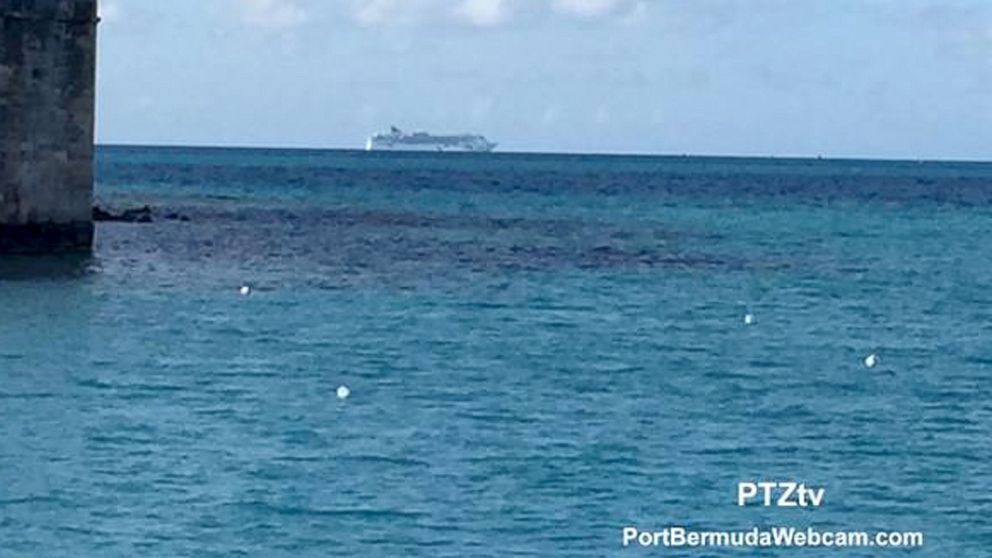 Norwegian Dawn Cruise Ship Aground In Bermuda ABC News - Cruise ship bermuda