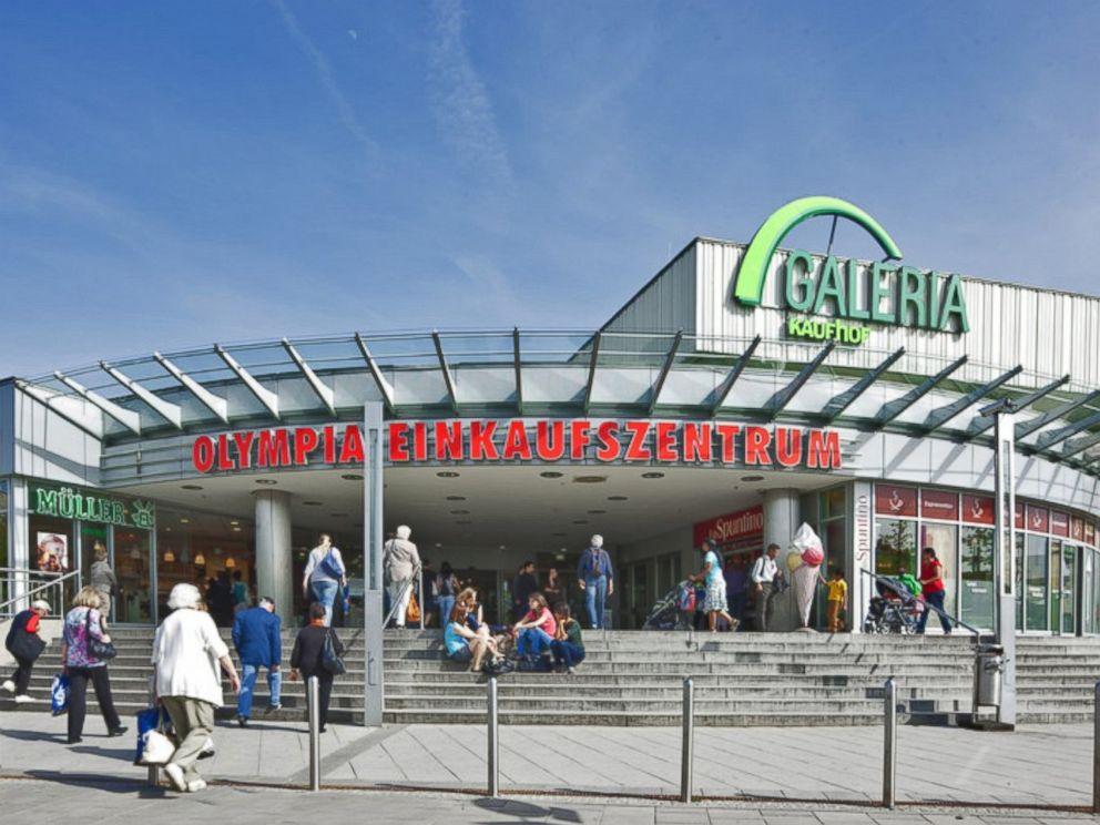 PHOTO: Olympia-Einkaufszentrum shopping center in Munich.