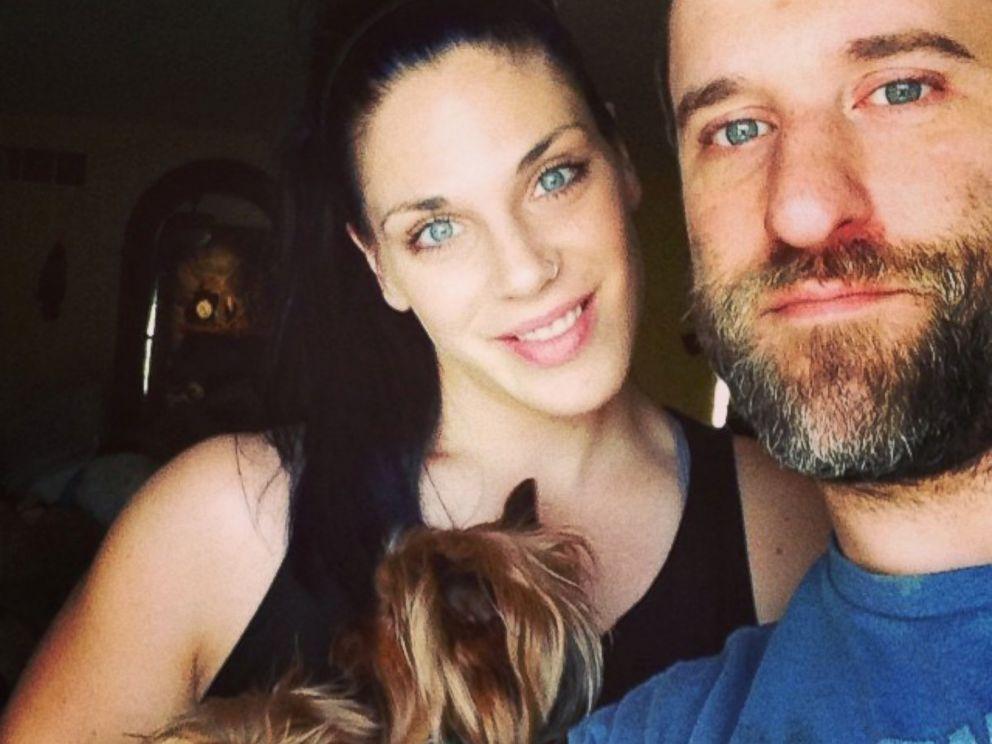 PHOTO: Dustin Diamond and his girlfriend, Amanda.