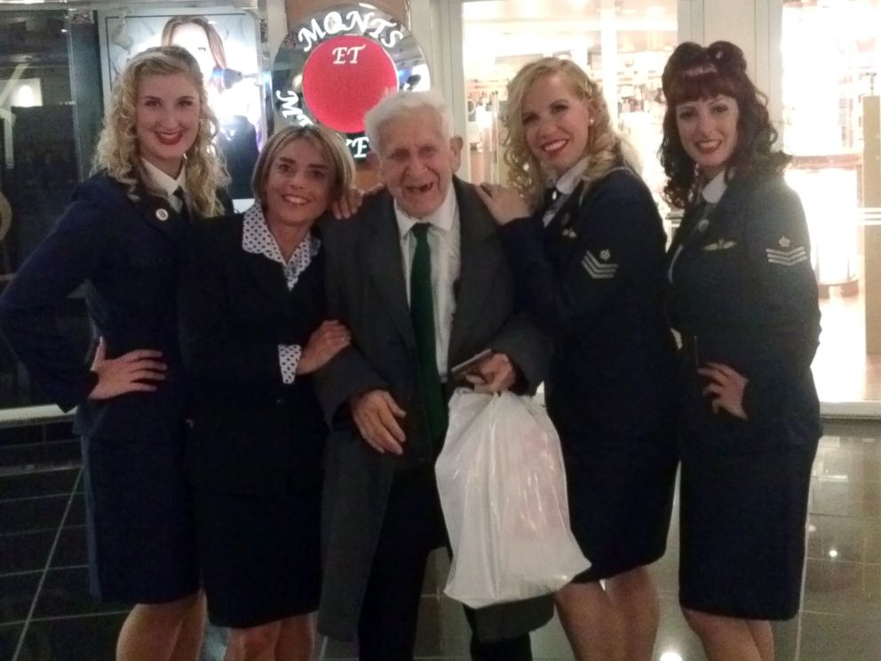 PHOTO: British D-Day veteran Bernard Jordan, 89, sneaked out of a nursing home on Englands south coast on Thursday and turned up in Normandy today to mark the invasions 70th anniversary, authorities said.