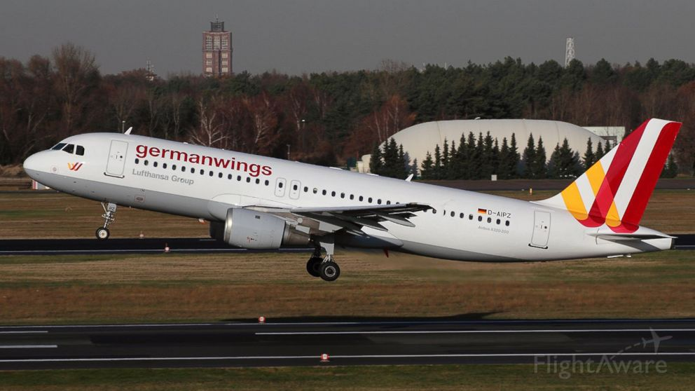 A passenger jet operated by Germanwings is seen in this file photo.