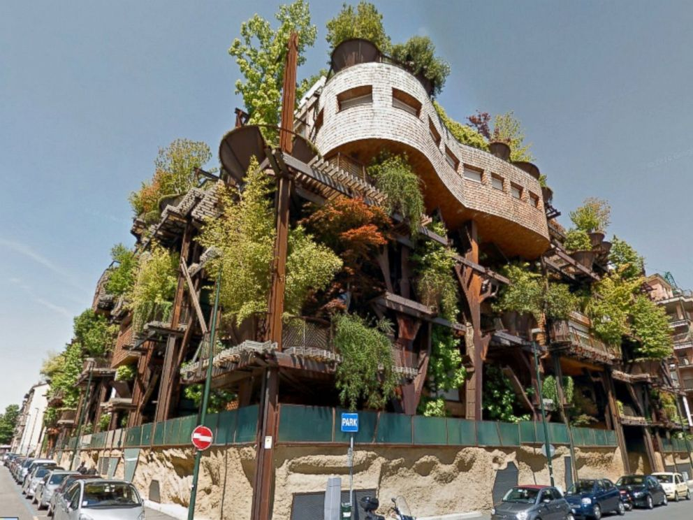 PHOTO: This Pictured Apartment Building In Turin, Italy, Called A Living  Forest By
