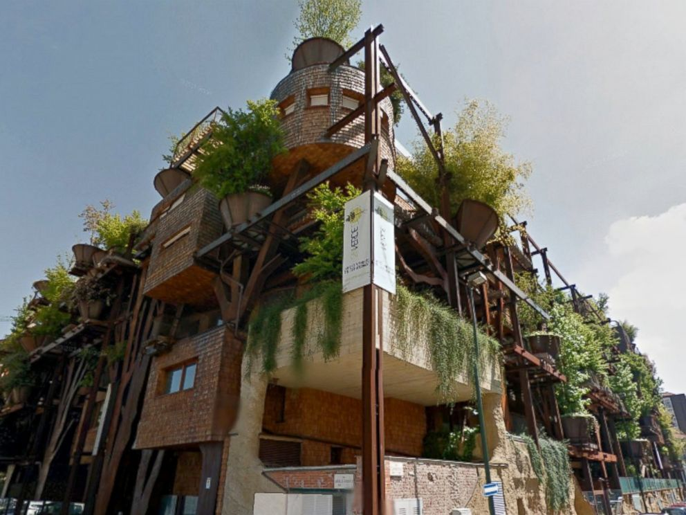 PHOTO: This pictured apartment building in Turin, Italy, called a living forest by its architect Luciano Pia, houses 63 unique apartments and contains terraces with trees and lush gardens.