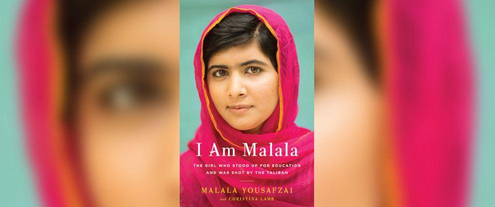 """PHOTO: The cover of """"I Am Malala,"""" by Malala Yousafzai."""