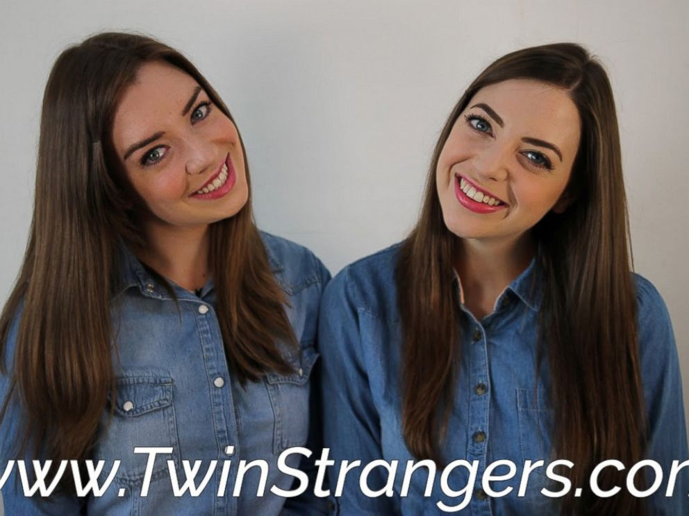 PHOTO: Niamh Geaney is pictured here with one of her doppelgangers, Irene Adams.