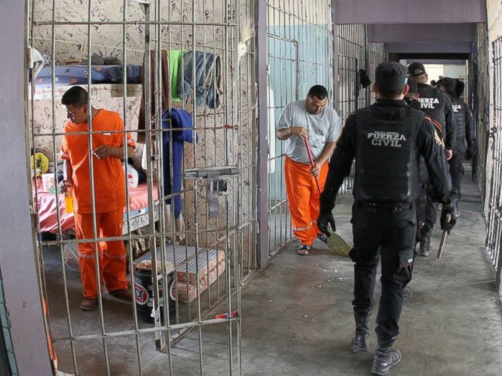 PHOTO: Contraband at a Mexican prison was discovered after a riot between two rival groups of a drug cartel.