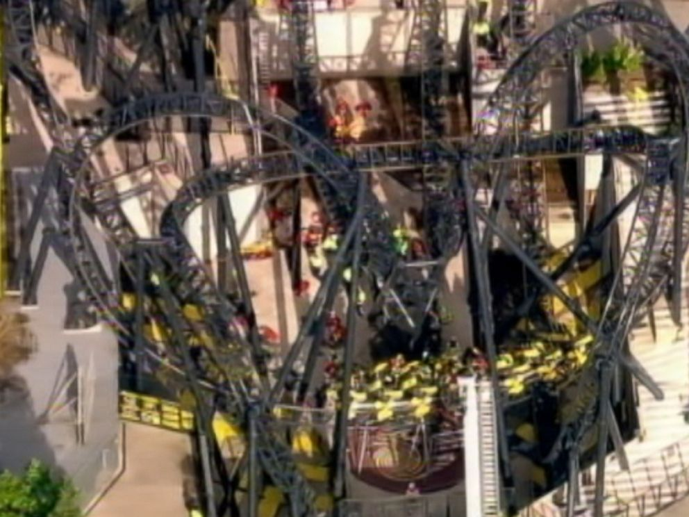 PHOTO: Four people were seriously injured after an amusement park accident at Alton Towers near London, June 2, 2015.