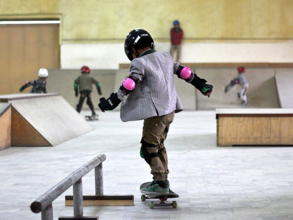 PHOTO: Skateistan is an organization that brings education to street youths through skateboarding in countries like Afghanistan and Cambodia.