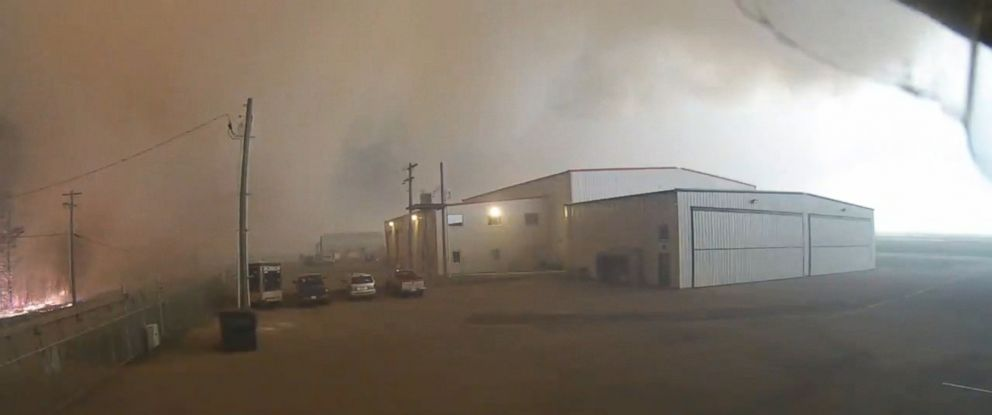 PHOTO: Time lapse video shows the intensity of the of wildfires that have decimated the landscape in the Fort McMurray area of Alberta, Canada.