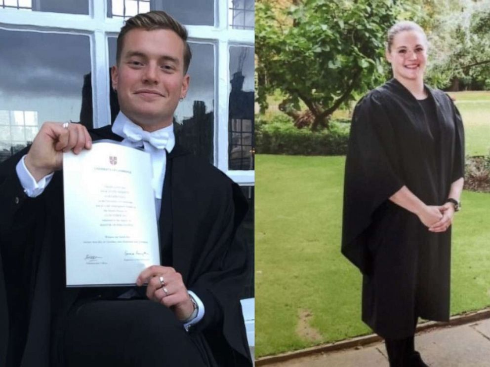 PHOTO: The Metropolitan Police released these photos of Jack Merritt and Saskia Jones.