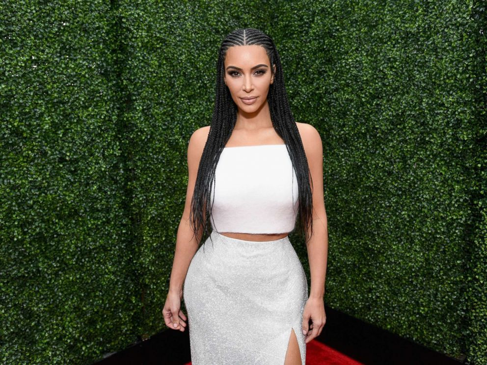 PHOTO: Kim Kardashian attends the 2018 MTV Movie And TV Awards at Barker Hangar on June 16, 2018 in Santa Monica, Calif.