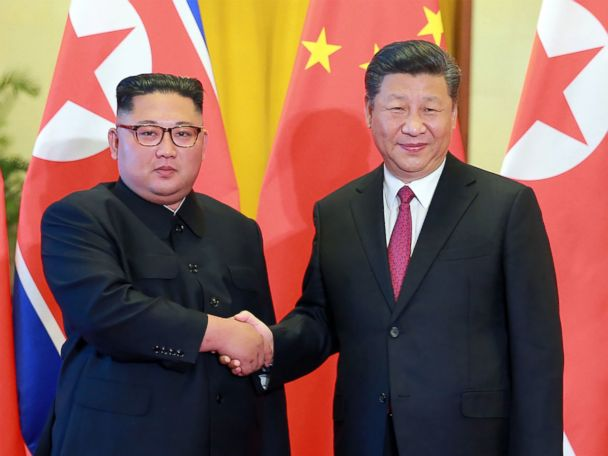 N. Korea's Kim Jong Un, in China, again calls for 'step-by-step' denuclearization