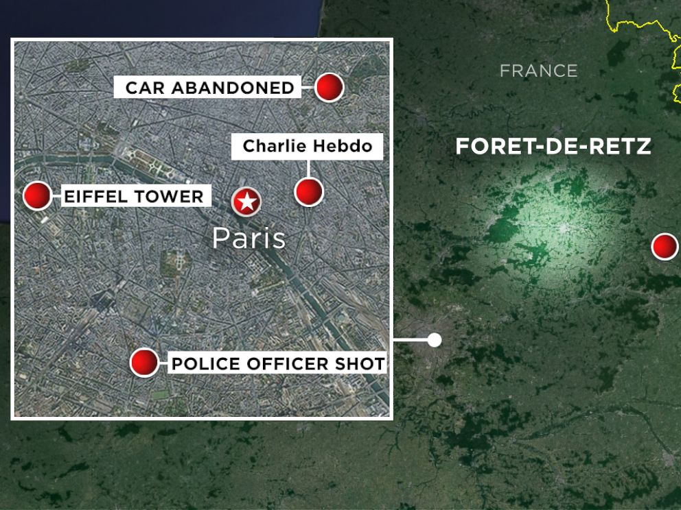 MANHUNT - Terror in Paris - ABC News