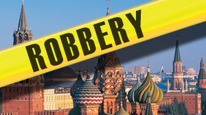 A lawyer who says he withdrew $18 million in cash from a bank for a client says $16.5 of it was stolen from his rented Moscow apartment on Monday. If a theft did indeed take place, it is believed it would be the biggest burglary ever committed in the Russ