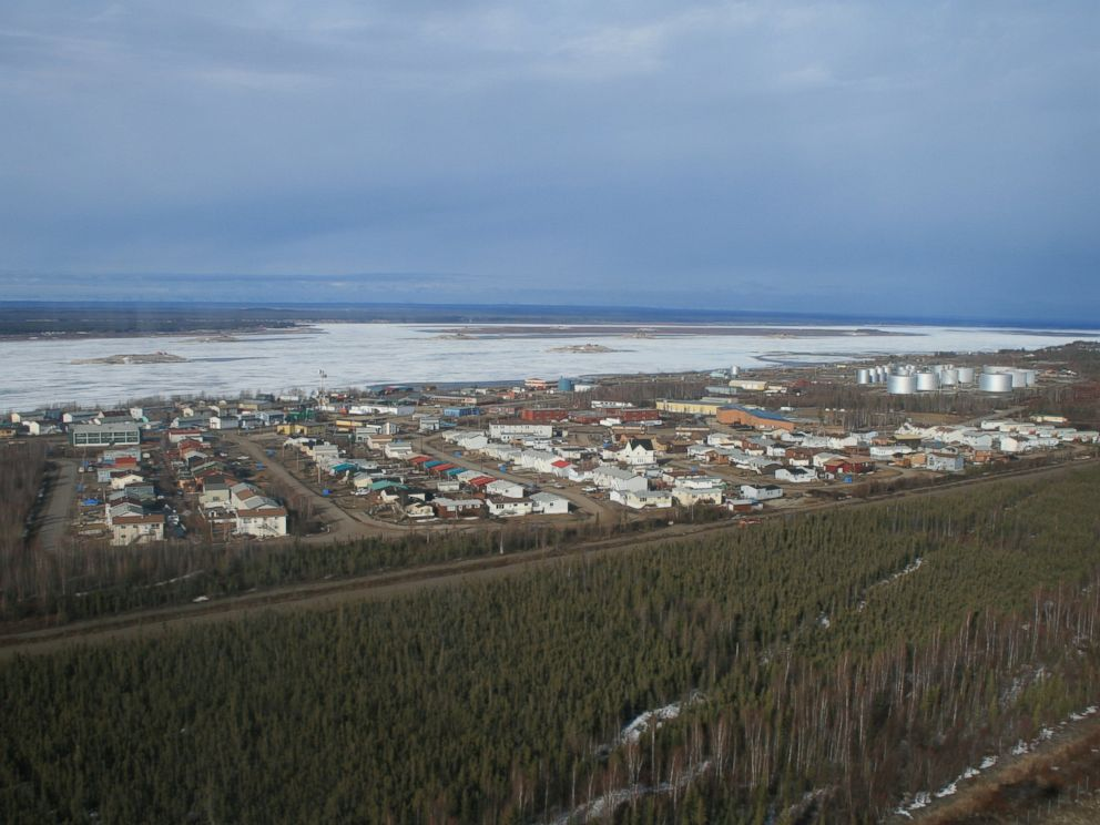 PHOTO: The Canadian town of Norman Wells, Northwest Territories, in an undated photo.