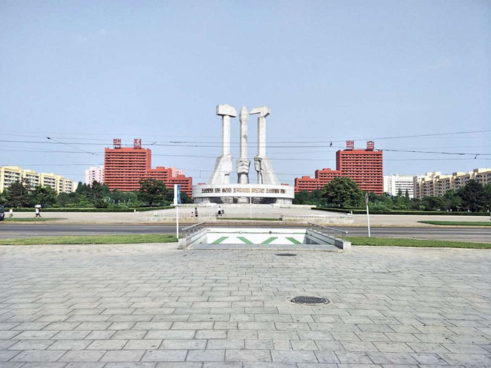PHOTO: The Monument to Party Founding, Pyongyang, North Korea, May 2018.