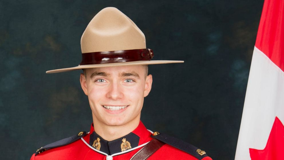 Canadian cop killed in line of duty after being run over by couple in stolen truck