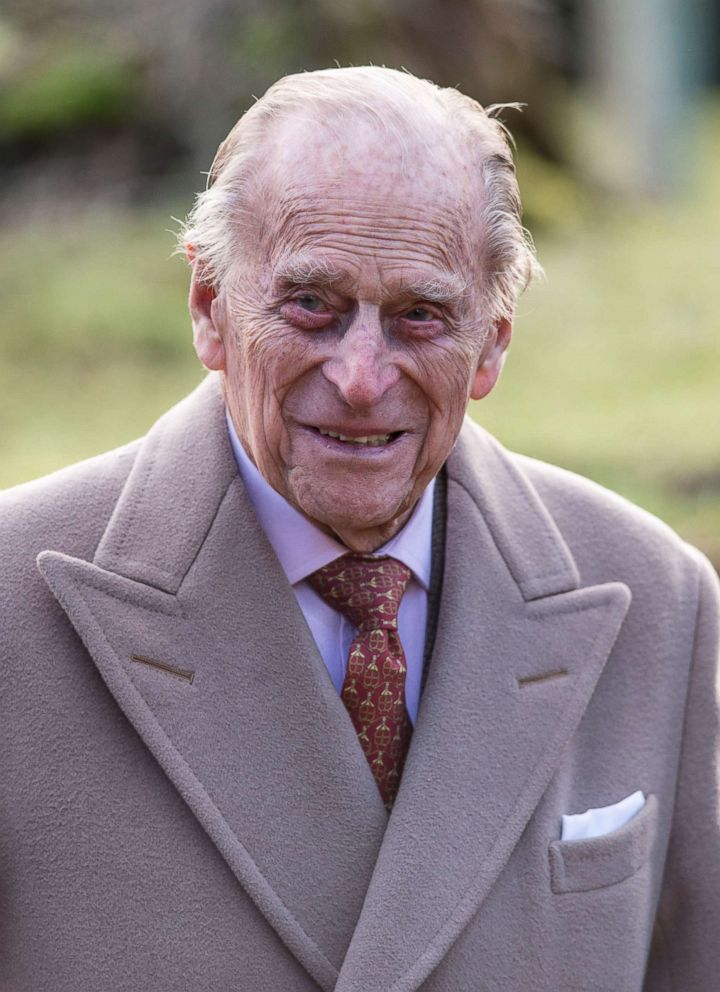 PHOTO: Prince Philip, Duke of Edinburgh attends Sunday Service at St Peter and St Paul Church in West Newton on Feb. 4, 2018 in Kings Lynn, United Kingdom.