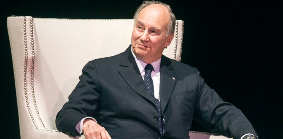 who is prince karim al husseini aga khan abc news