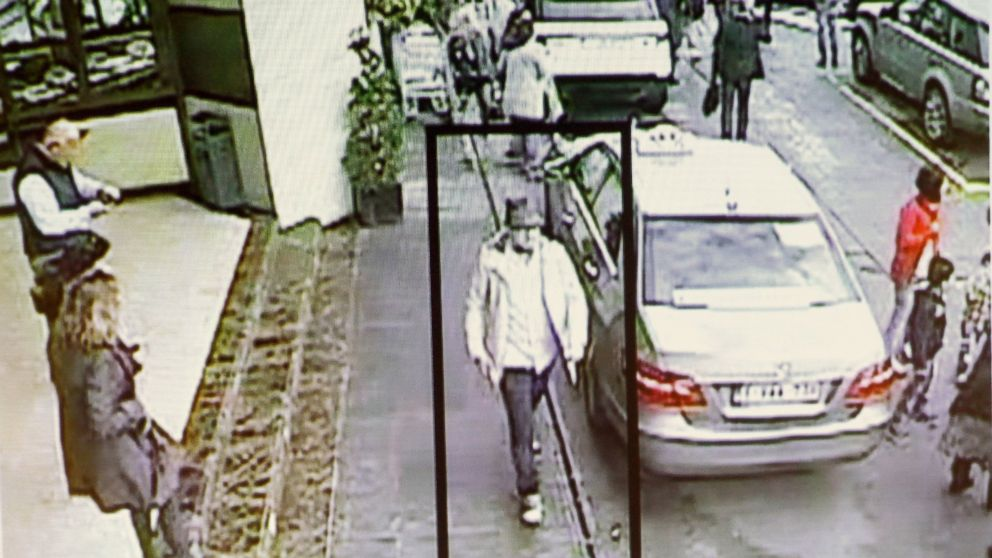 A man whom officials believe may be a suspect in the attack which took place at the Brussels international airport of Zaventem, is seen in this surveillance image made available by Belgian Police, April 7, 2016.