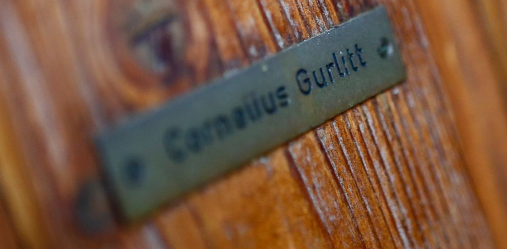 PHOTO: The name plate on the house of art collector Cornelius Gurlitt is pictured in Salzburg Nov. 6, 2013.