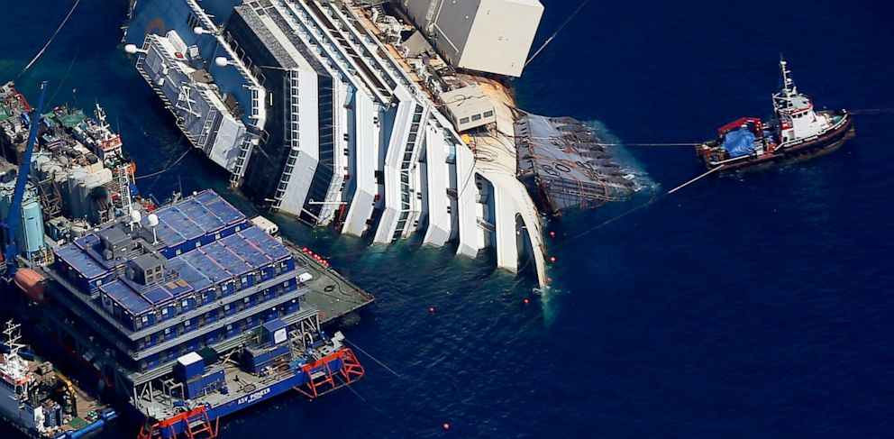 PHOTO: Costa Concordia Salvaged