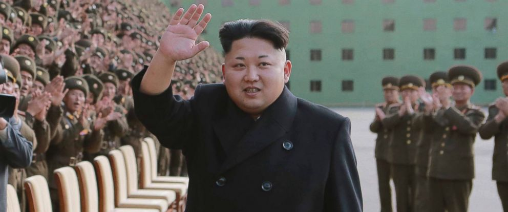PHOTO: Kim Jong-un is pictured in this undated photo released by North Koreas Korean Central News Agency in Pyongyang, North Korea.