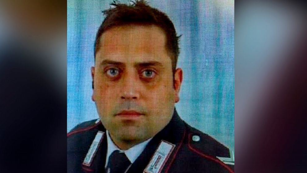 Italian police officer stabbed with 'much violence,' autopsy report says