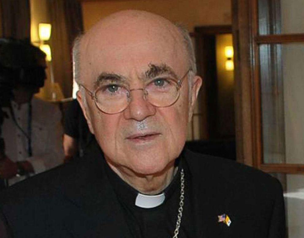 PHOTO: Monsignor Carlo Maria Vigano in Rome, April 2016.