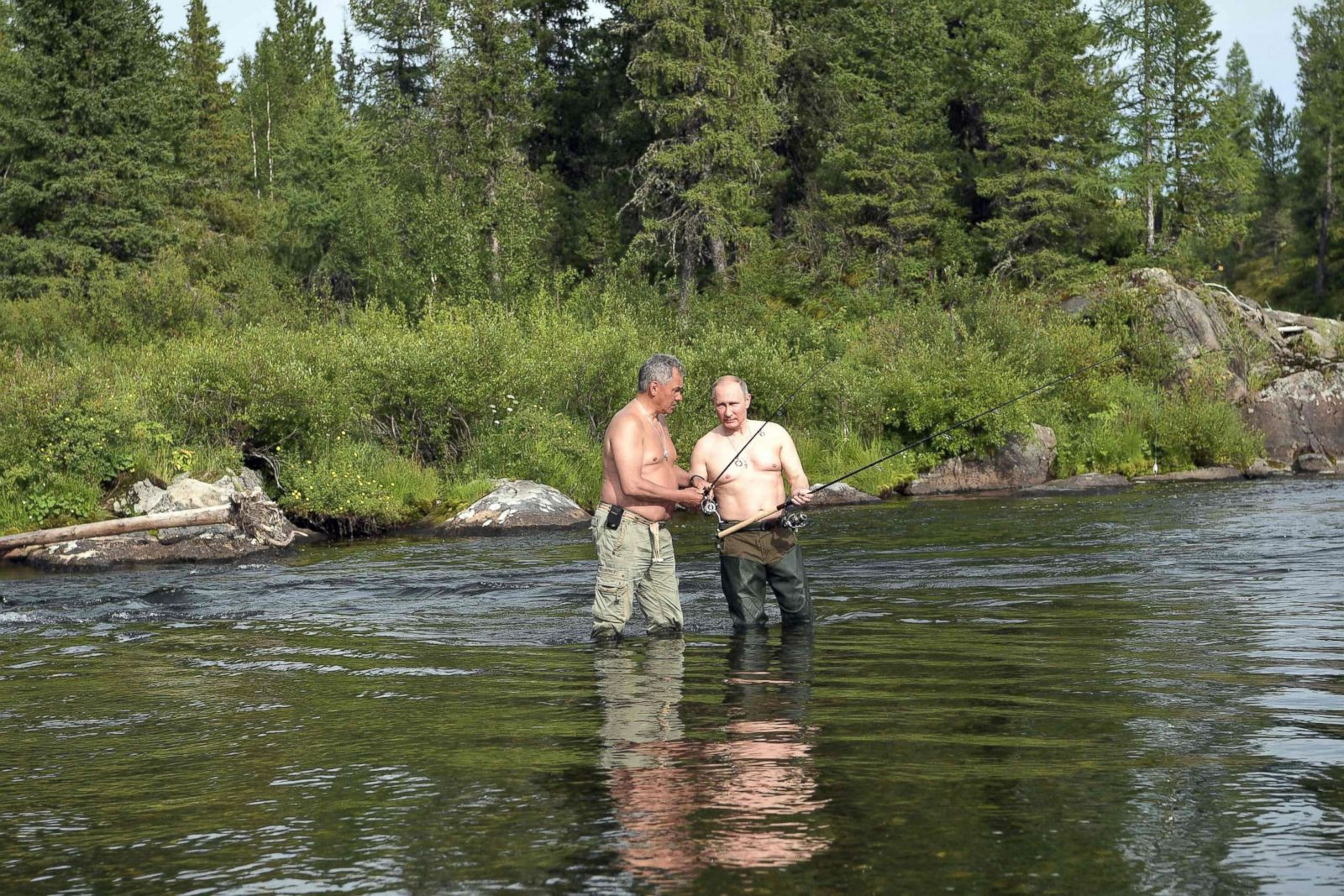 The Macho Pursuits Of Russian President Vladimir Putin Photos Abc News