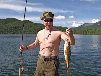 The macho pursuits of Russian President Vladimir Putin