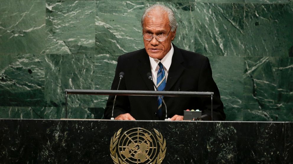 Tonga's prime minister, who nurtured democracy, dies at 78