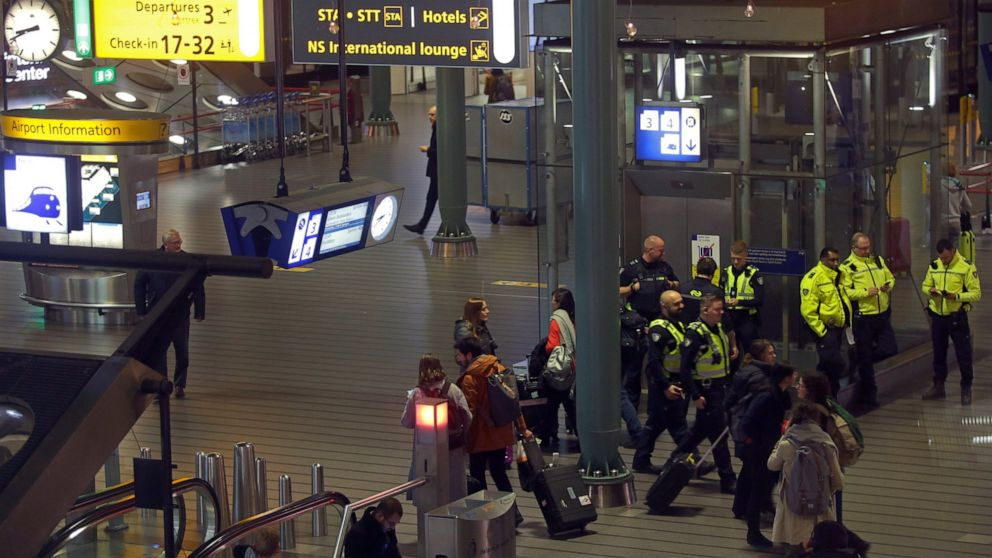 Airline says false hijack alarm caused Dutch airport alert