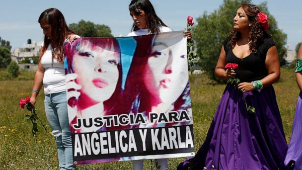 Caravan memorializes females murdered in grim Mexican suburb